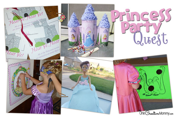 Birthday Party Ideas! {Invitations, Jeweled Goblets, Pinata Quest ...